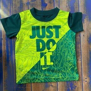 The Nike Tee Boys T-Shirt Dri-Fit 2T